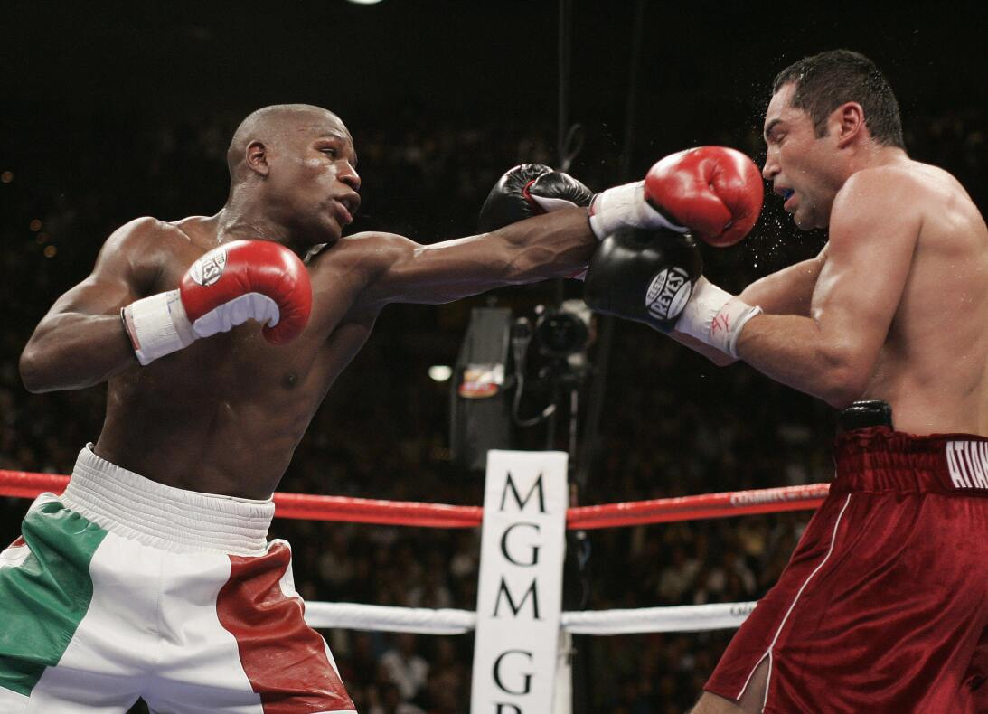 Floyd vs. Conor: Lo mejor de dos mundos De la Hoya.jpg