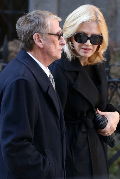Diane Sawyer y Mike Nichols fueron grandes amigos del diseñador.