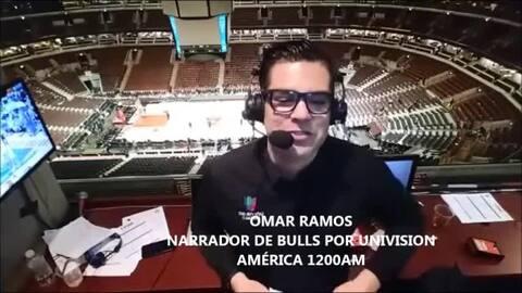 Lo mejor del juego de los Bulls con Omar Ramos