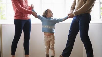 Si después del divorcio, tú y tu pareja llevan adelante bien la custodia...