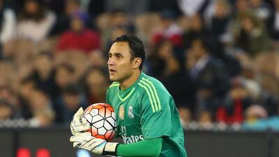 Keylor Navas fue titular del Real Madrid ante la Roma.