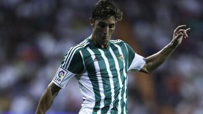 Cejudo marcó el tercer gol del Real Betis.
