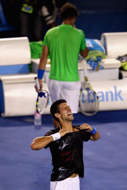 Con esta victoria, Djokovic se convierte en el quinto jugador de la era...