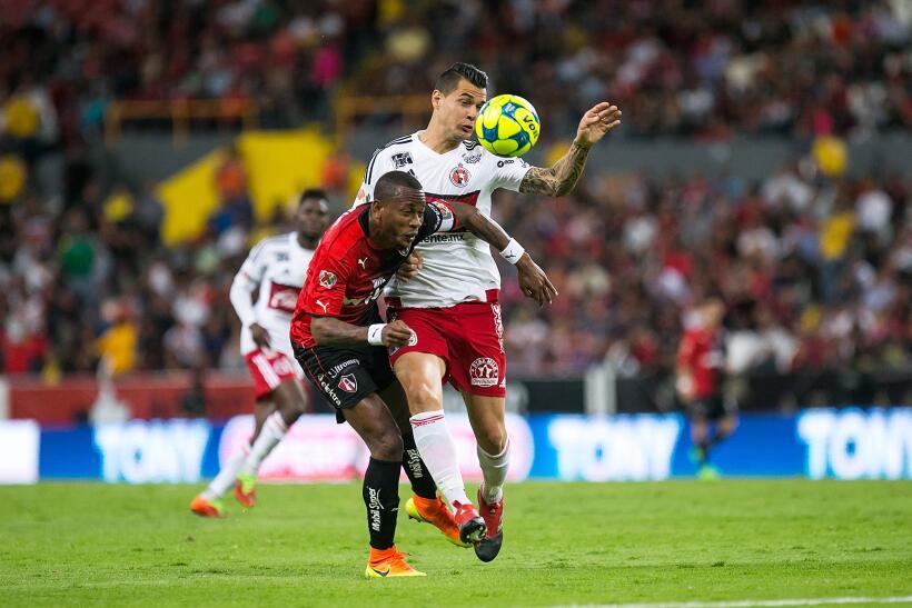 Con chilena de Avilés Hurtado, Xolos sacó el empate ante Atlas Grn Prime...