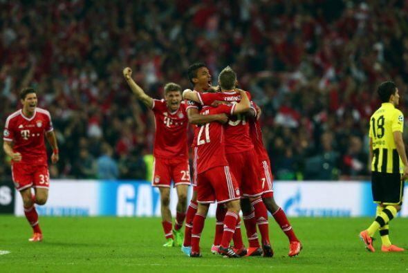 Hubo tiempo para poco más. Sonaron los tres pitazos finales y el Bayern...