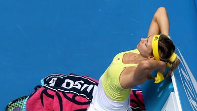 Ella es Maria Kirilenko, una de las tenistas más guapas del circuito