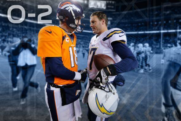 10. Manning vs. San Diego: Peyton Manning se ha enfrentado a seis equipo...