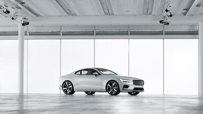 Fotos del Bentley Continental GT 2019 215052-polestar-1-white-exterior-3...