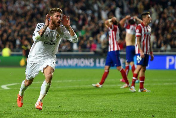 En tiempo de compensación Ramos metería al partido al Real Madrid quien...