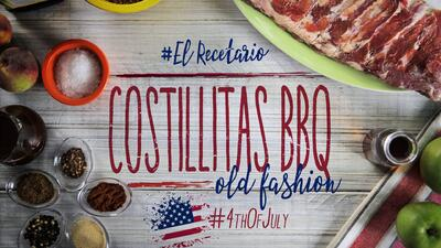 Costillitas BBQ Old Fashion #ElRecetario