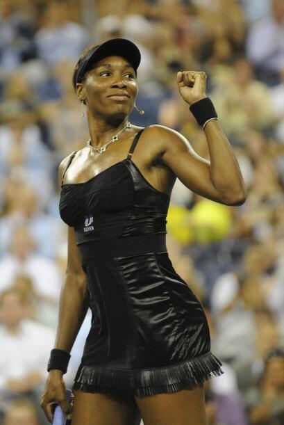 Puesto 4: Venus Williams, de EU, con 5715 puntos y 15 torneos jugados en...