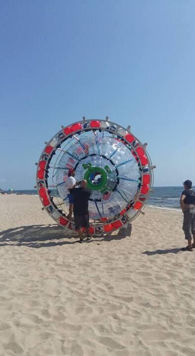 Reza Baluchi volverá a intentar su travesía, saliendo de Pompano Beach h...