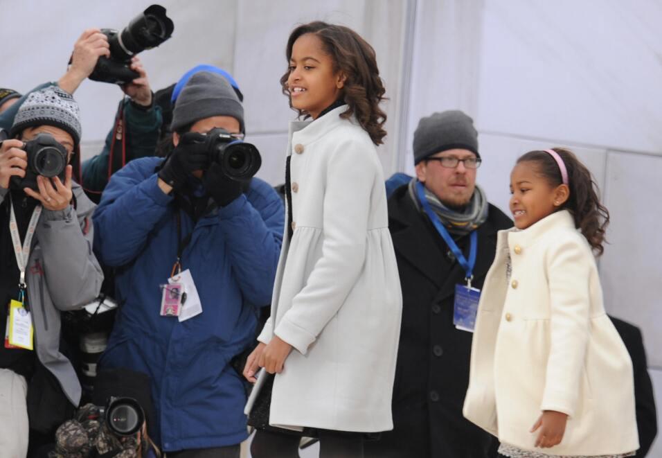 8 lecciones prácticas sobre educación que dejan los Obama como padres Ge...