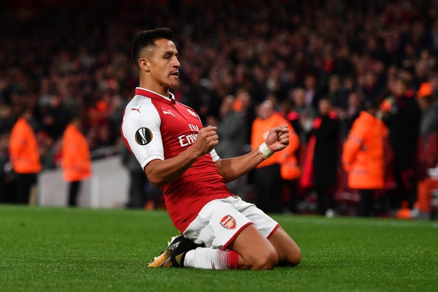15. Alexis Sánchez (Arsenal) - Puntaje: 89