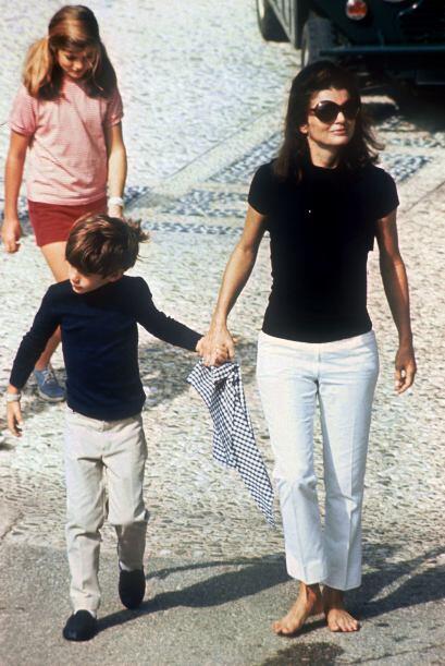 Ella también fue la responsable en poner de moda los pantalones capri.