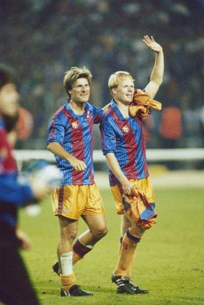 Barcelona ha sido campeón de la UEFA Champions League en tres ocasiones...