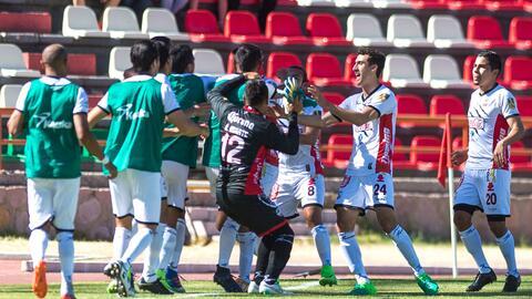 Lobos BUAP goleó 6-2 a Mineros para lograr su pase a la final.