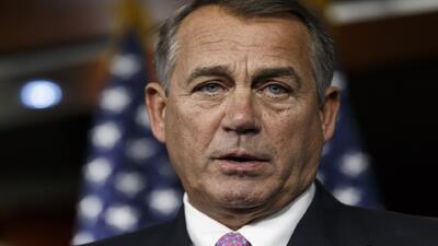 John Boehner: 'el Presidente debe demostrar que se puede confiar en él'