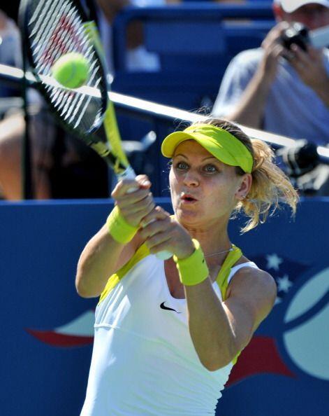 Lucie Safarova venció en tres sets a Madison Keys.