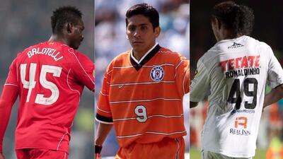 ¡Fuera de serie!: futbolistas con números de playeras curiosos y poco comunes