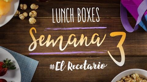 Regreso a clases: diviértete preparando lunch boxes (Semana 3)