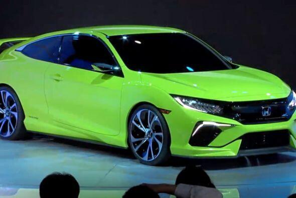 Honda Civic Concept: El Civic Concept equipa el nuevo motor VTEC turbo d...
