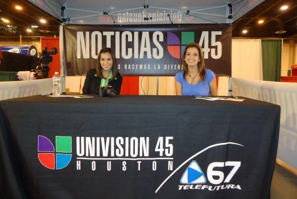 Univision Televisión no podía faltar en este festival. (Fotos cortesía d...