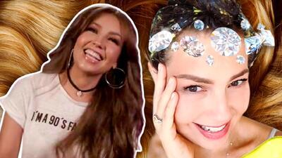 """Aguacate, huevo y algo más: el secreto de Thalía para no tener el cabello """"hecho un desastre"""""""