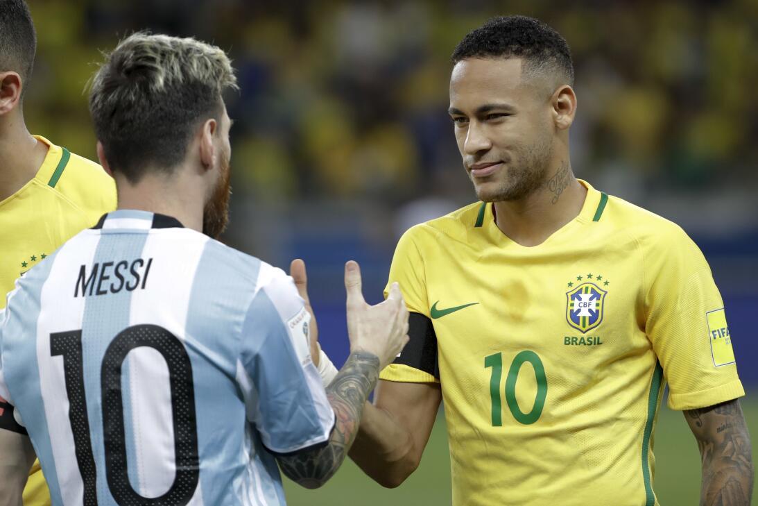 Brasil estuvo de fiesta en el clásico contra Argentina AP_16316001727153...