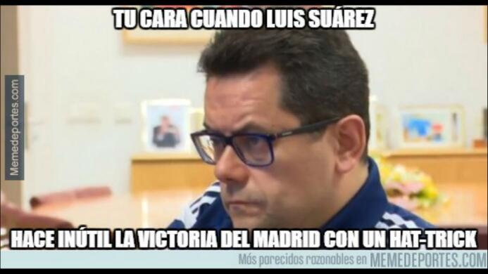 Memes del Real MAdrid y Barcelona