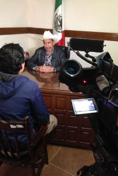 José González es el alcalde de Iturbide. Él espera que la economía del l...