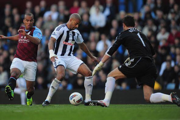 Aston Villa perdió como local 1- 2 ante West Bromwich, resultado sorpres...
