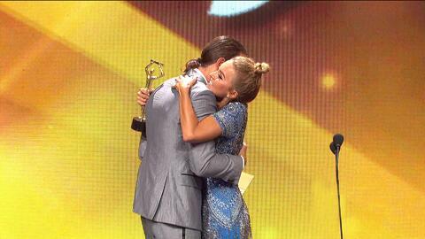 Angelique Boyer y Sebastián Rulli fueron los ganadores de los 'Premi...