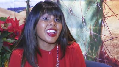 Graciela Nobles, una inmigrante boliviana adoptada por una enfermera res...