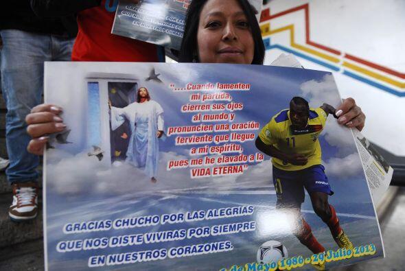 Christian 'Chucho' Benítez ha dejado una huella en el sentimiento de los...