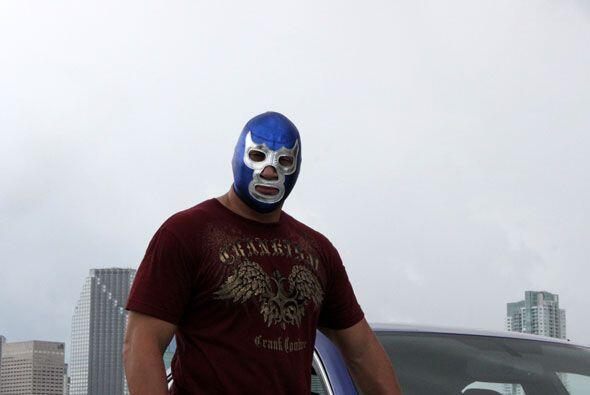 Como todo competidor nato, Blue le supo exprimir el jjugo a su potente V8.