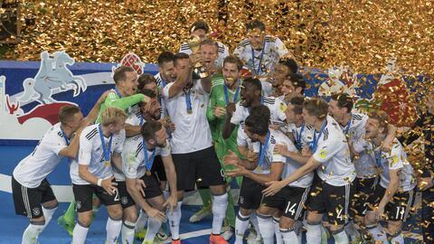 Alemania derrotó 1-0 a Chile para proclamarse campeón.