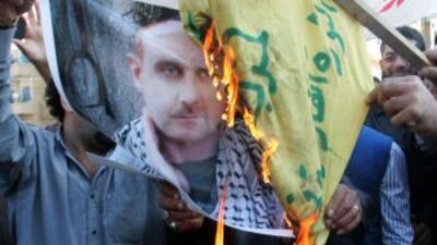 Pese a la represión del gobierno sirio, continuaron las manifestaciones...