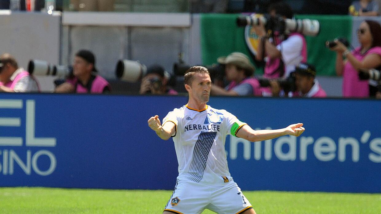 Robbie Keane celebra su gol ante NYCFC