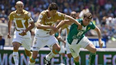 Pumas vs. León