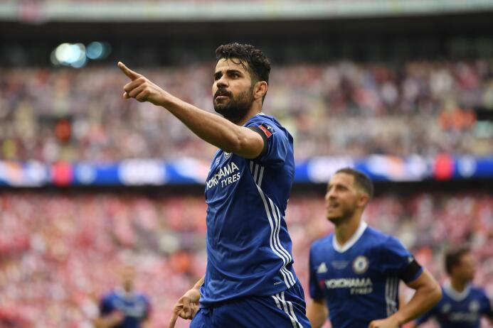 El español Diego Costa sigue gestionando su regreso al Atlético de Madri...