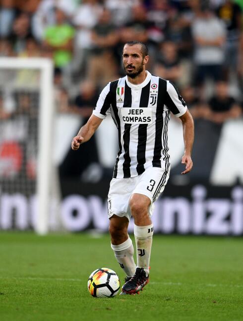16. Giogio Chiellini (Juventus) - Puntaje: 89