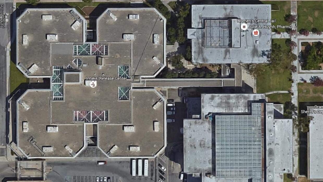 Central Jail Complex en la ciudad de Santa Ana