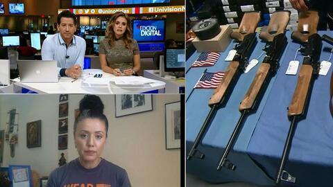 Aurora Vasquez, un ejemplo de la violencia con armas de fuego