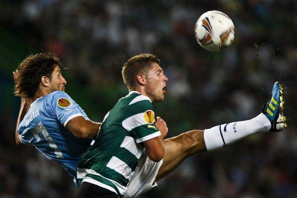 El Sporting de Lisboa recibió la visita de la Lazio.