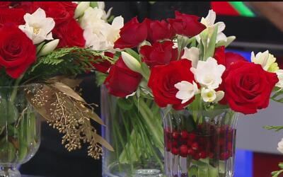 Ideas para que pueda elaborar sus arreglos florales en casa y con poco p...
