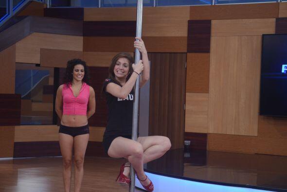 El Pole Dancing es un ejercicio para hombres y mujeres que ha cogido fue...