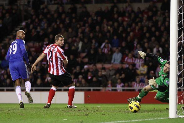 Aún faltó el gol de Nicolás Anelka, que significió el triunfo definitivo...