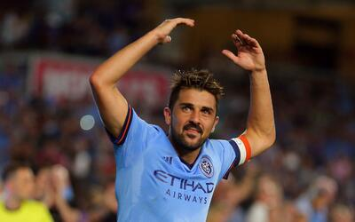 David Villa y New York City FC se preparan para el inicio de los Playoffs.