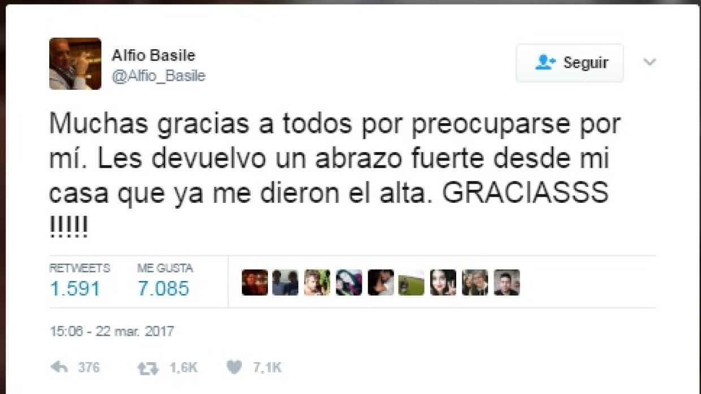 Tweet Basile